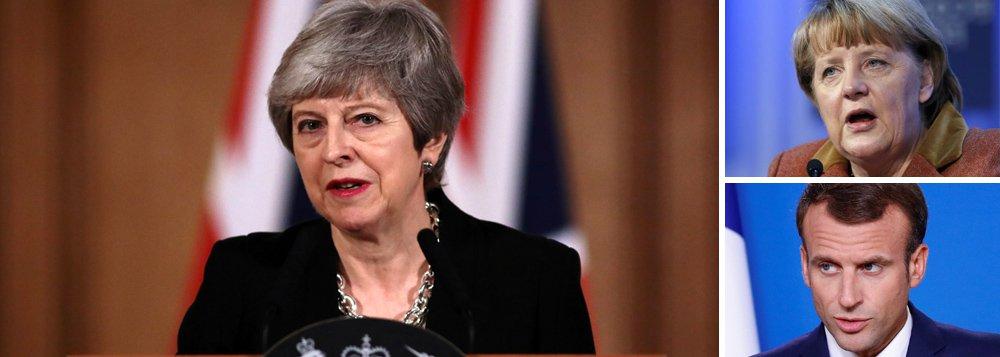 Alemanha aceita adiamento do Brexit; França endurece e impõe condições