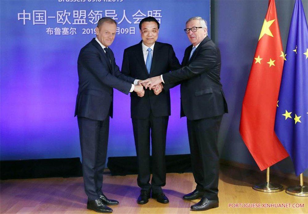China e UE emitem declaração defendendo o multilateralismo