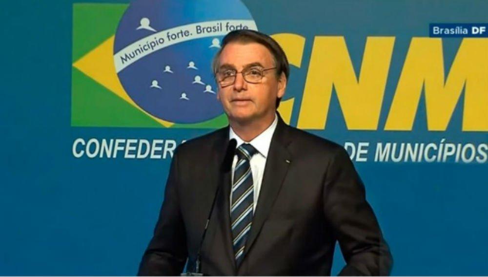 Resultado de imagem para discurso de bolsonaro em brasili