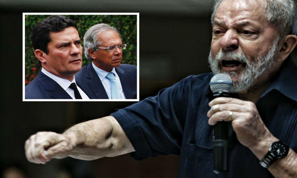 Lula: Guedes é o segundo ministro a saber que sou inocente, depois de Moro