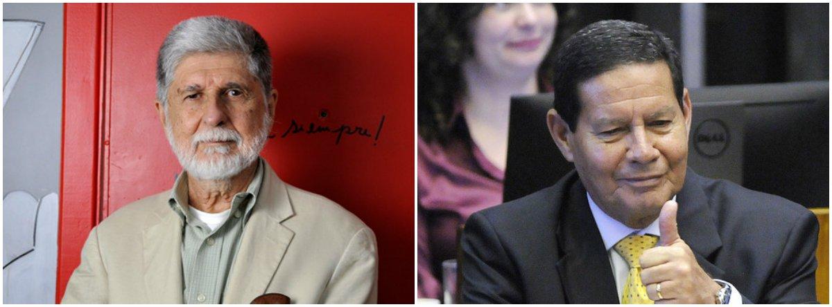Amorim: general Mourão tem revelado bom senso