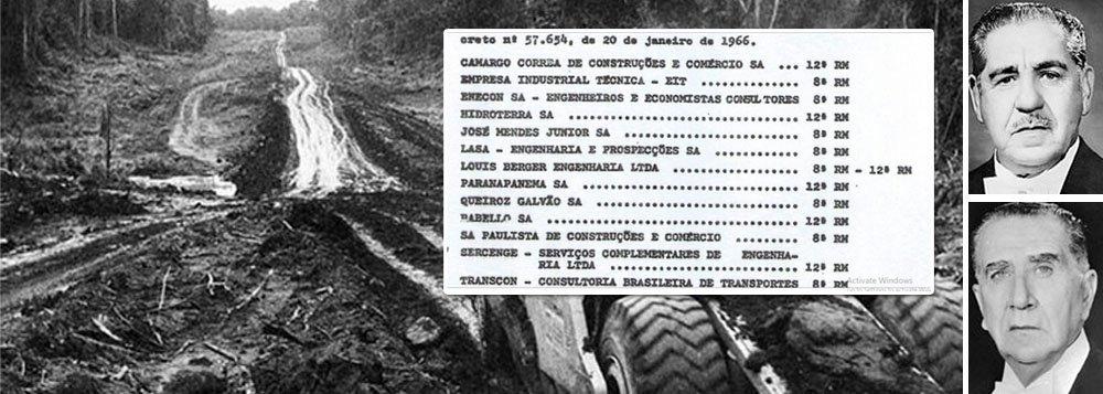 Boletins Reservados do Exército vinculam empresas à política de segurança nacional