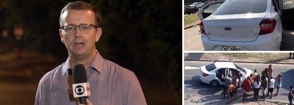 Repórter da Globo sofre ameaça de morte por reportagem de fuzilamento