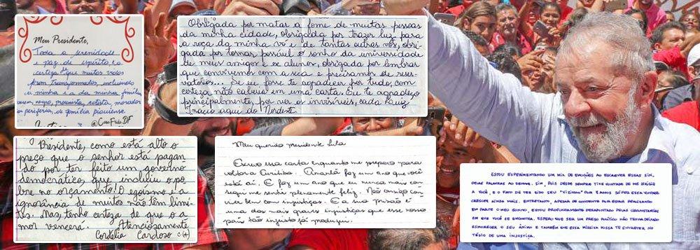 Cartas a Lula: 365 dias de prisão em depoimentos enviados ao cárcere