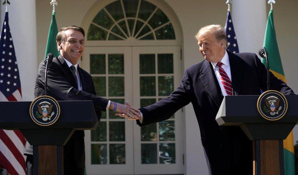 Bolsonaro e  Trump são farinha do mesmo saco