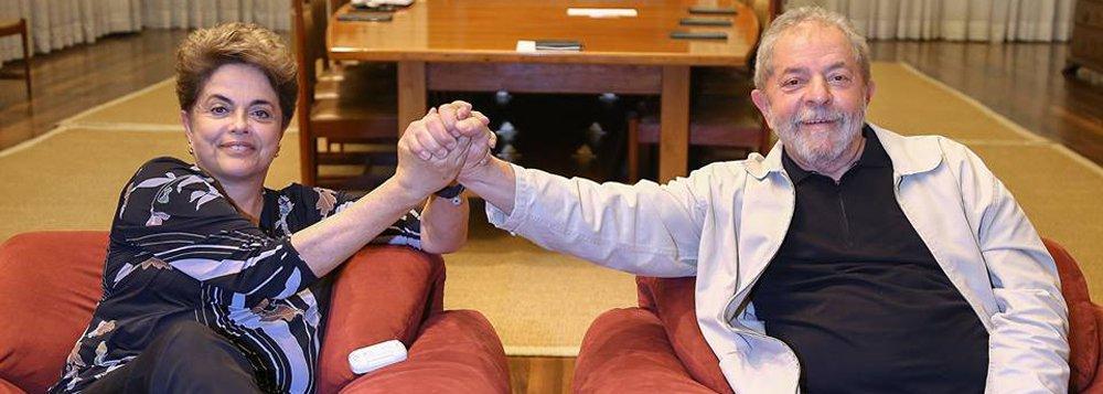 'O povo está contigo. Você não está só', diz Dilma em carta a Lula