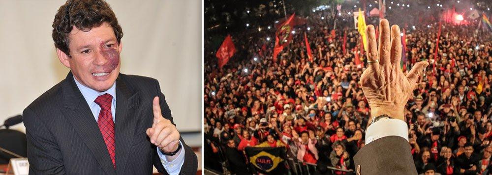 História mostrará quem pensou o Brasil acima de tudo, diz deputado a Lula