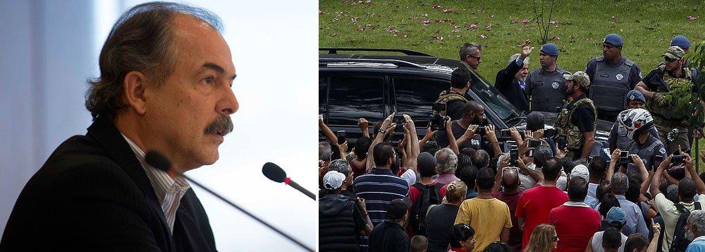 Mercadante: Lula é um gigante a assombrar o pesadelo Bolsonaro