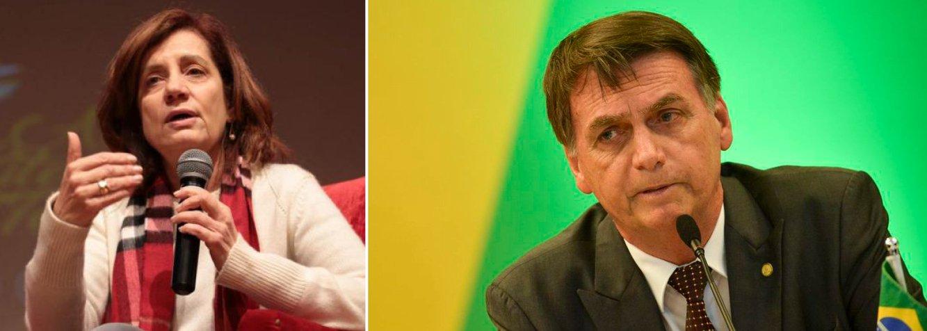 Bolsonaro é bizarro, mentiroso e também perigoso, diz Miriam Leitão