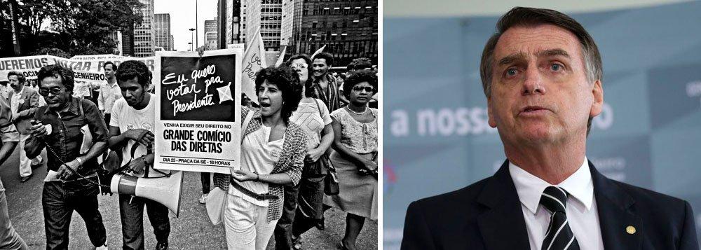 Datafolha mostra que brasileiros desprezam golpe de 1964