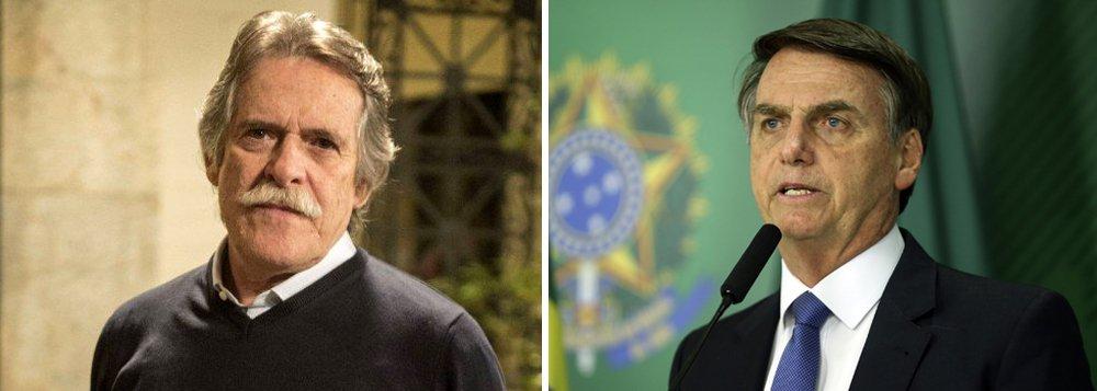 Zé de Abreu: Bolsonaro não existe como presidente, ele ainda não assumiu
