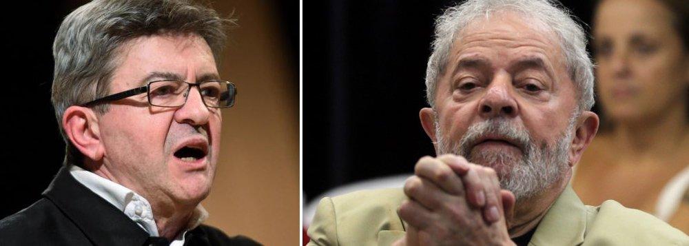 Líder da esquerda francesa convoca manifestação por Liberdade de Lula