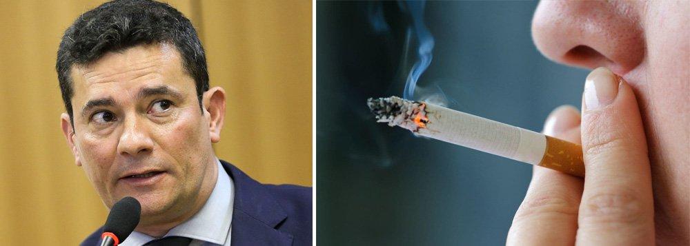 Moro terá que prestar explicações sobre projeto que reduz impostos sobre cigarros