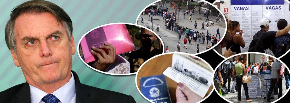 Resultado de imagem para Governo Bolsonaro empregos