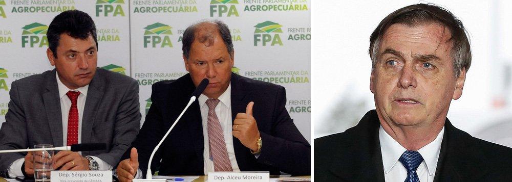 Ruralistas estão prestes a romper com Bolsonaro