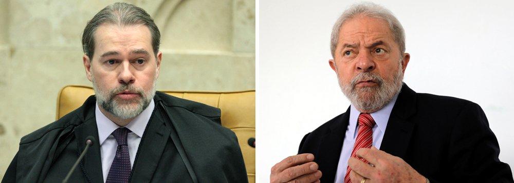 Toffoli tira da pauta ação que poderia libertar Lula