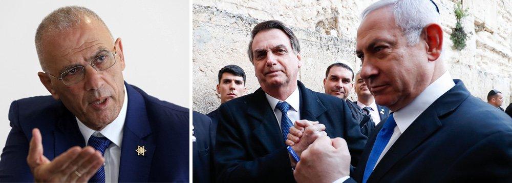 Israel diz que Bolsonaro foi aluno nota 10