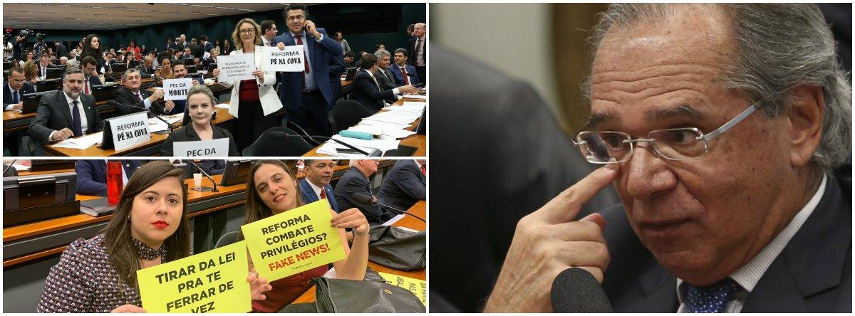 Paulo Guedes fracassa na Câmara, Ibovespa desaba e dólar sobe