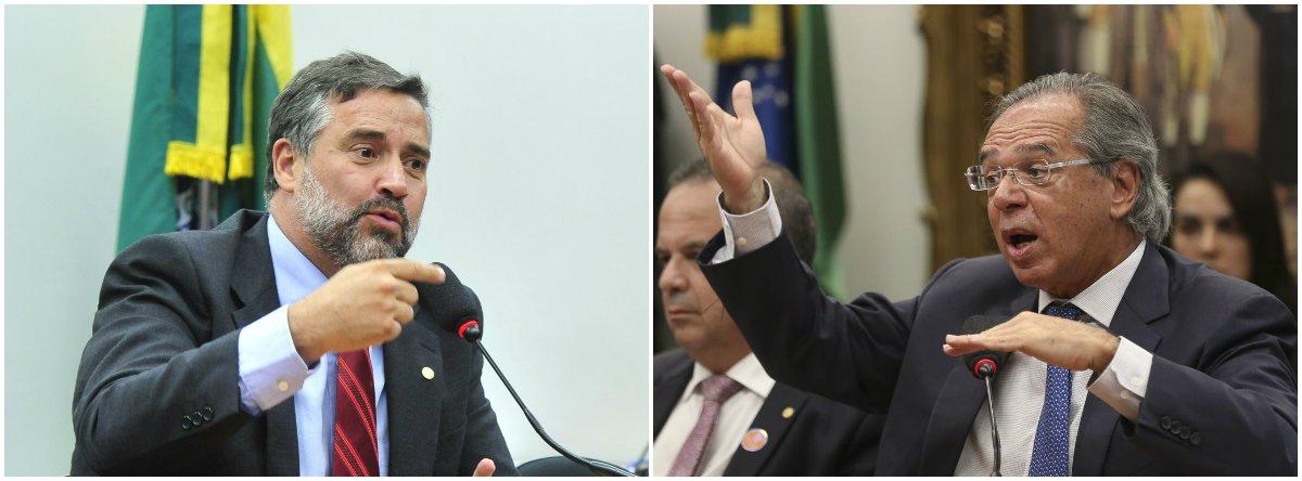 Pimenta: único objetivo de Paulo Guedes é garantir o interesse dos bancos