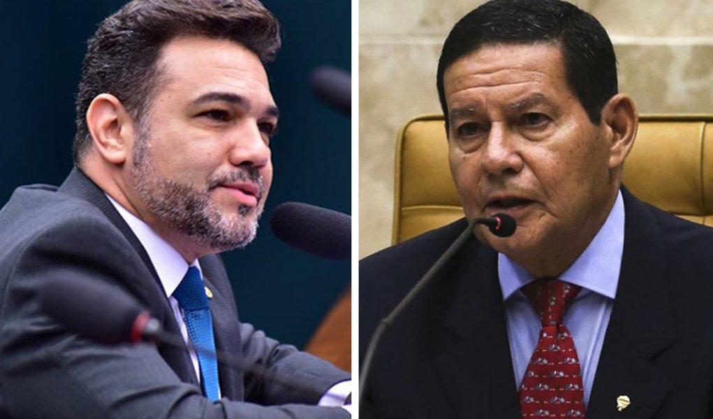 Marco Feliciano e Hamilton Mourão