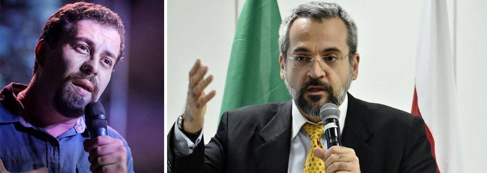Boulos diz Weintraub não pode assumir MEC por agredir nordestinos