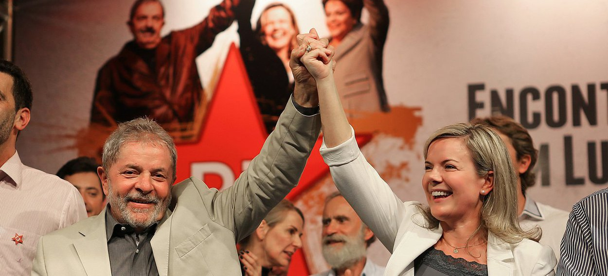 Lula: Gleisi deve continuar na presidência do PT