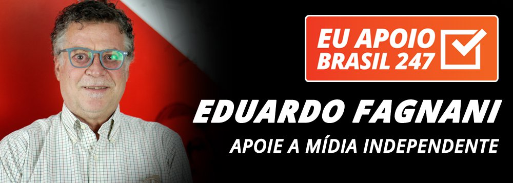 Eduardo Fagnani apoia o 247: apoie a mídia independente