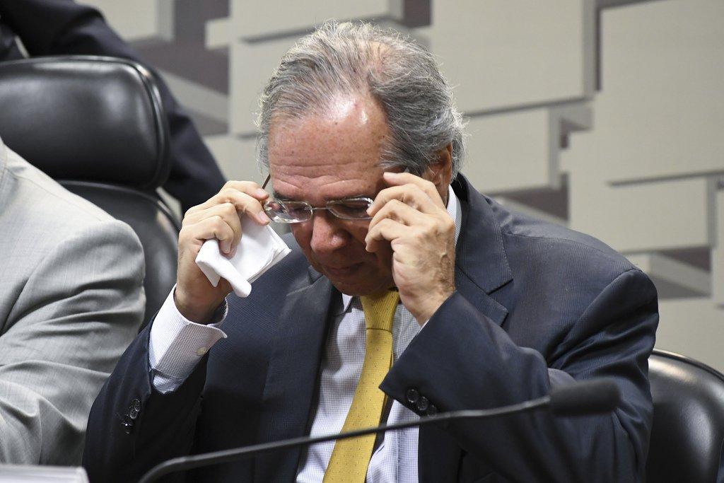 Guedes diz que 'sem potência' na reforma, 'não tem coragem' de lançar capitalização