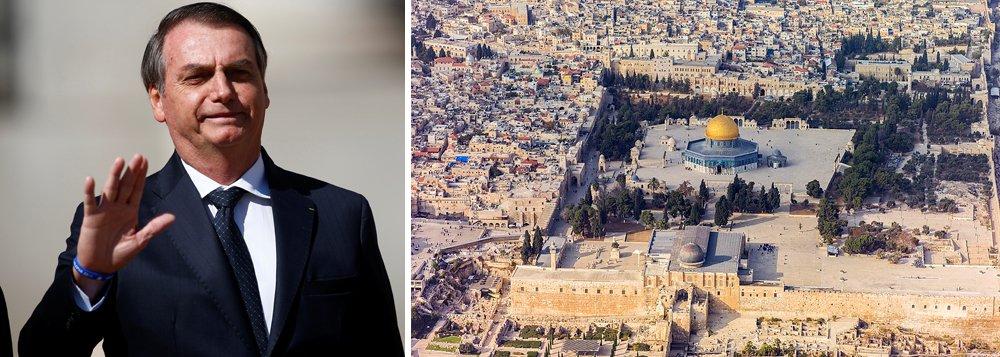 Bolsonaro ofende 1,5 bilhão de muçulmanos para agradar fundamentalistas e Netanyahu