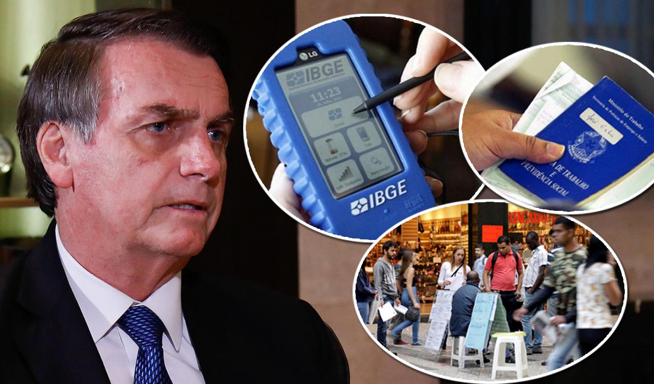 Desemprego explode, mas a culpa é do IBGE, diz Jair Bolsonaro