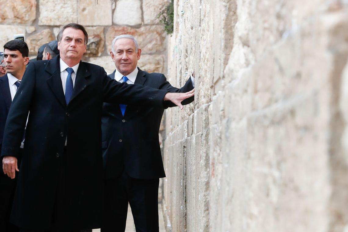 No Yad Vashem a relação bizarra de Netanyahu, Bolsonaro e Holocausto