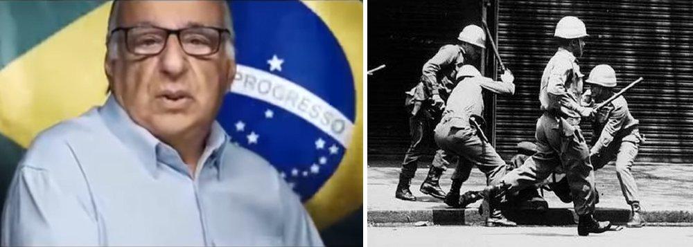 Planalto divulga vídeo que exalta o Golpe Militar