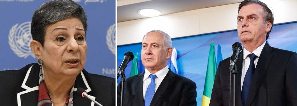OLP: Jerusalém Oriental é território palestino e visita de Bolsonaro é 'inaceitável'