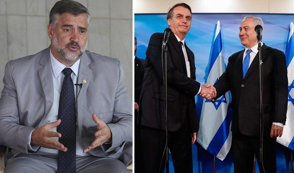 Pimenta: com escritório em Jerusalém, Bolsonaro desagrada Israel e povos árabes