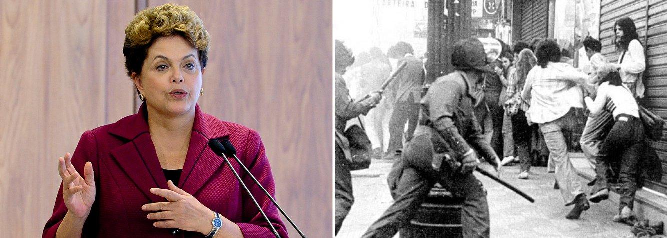 Dilma nos 55 anos do golpe: dia de luto e de luta