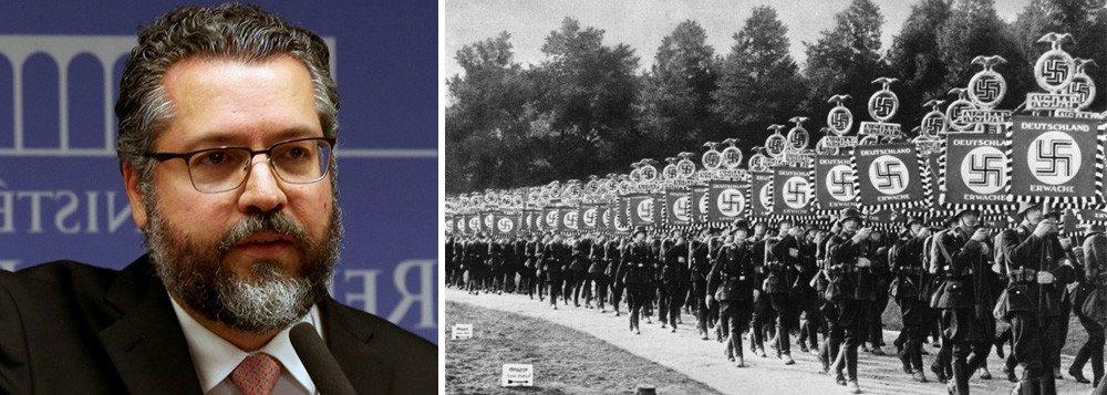 Pior diplomata do mundo, Ernesto escreve artigo para tentar provar que o nazismo é de esquerda