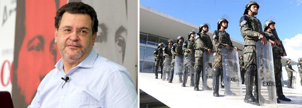 Rui Costa Pimenta: há uma ameaça de golpe militar