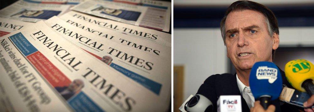 Financial Times: sem sair do Twitter, Bolsonaro compromete ...