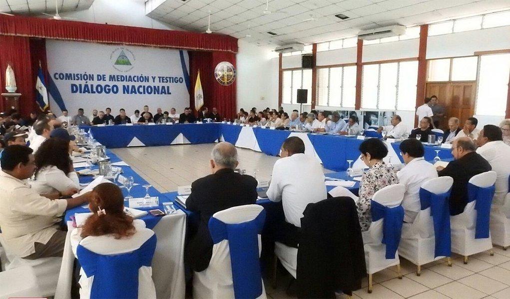 Nicarágua conclui com acordos diálogo nacional entre governo e oposição