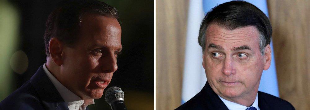 Doria começa a se descolar de Bolsonaro