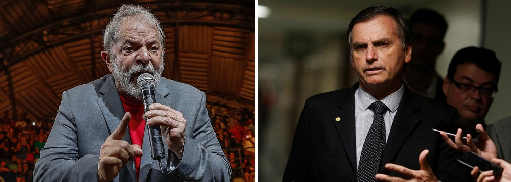 Lula ironiza recalque de Bolsonaro