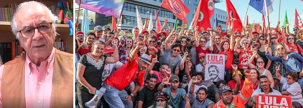 Boaventura Sousa Santos convoca atos Lula Livre pelo mundo