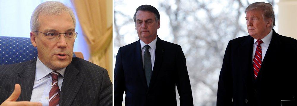 Rússia condena proposta de Trump de aliança do Brasil com Otan