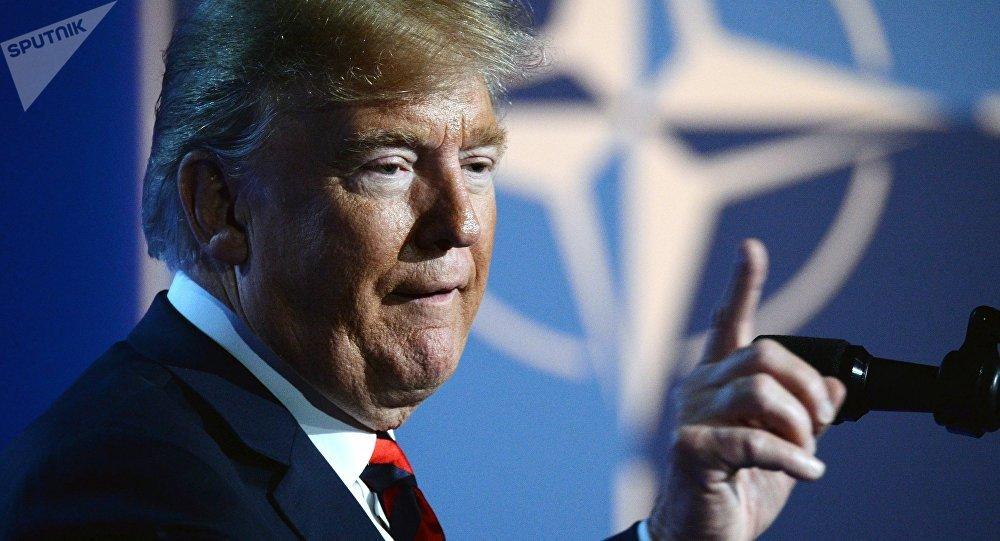 Trump receberá secretário-geral da Otan; Brasil pode ser incluído na pauta