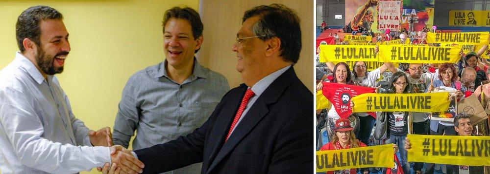 Esquerda sela aliança por Lula Livre, Brasil soberano e contra destruição da Previdência