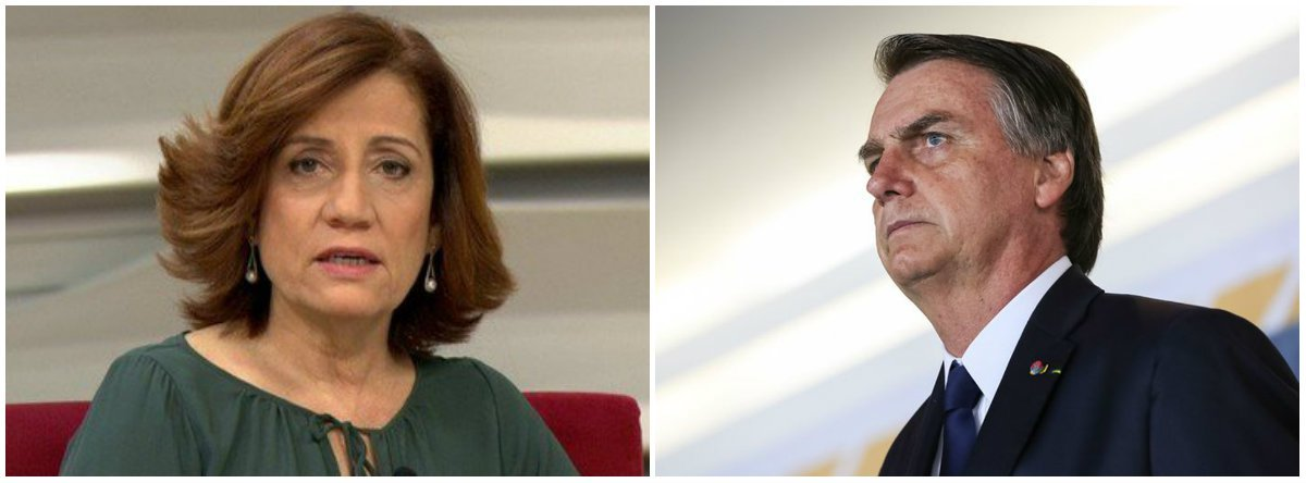 Bolsonaro se afoga num copo d'água, diz Miriam Leitão