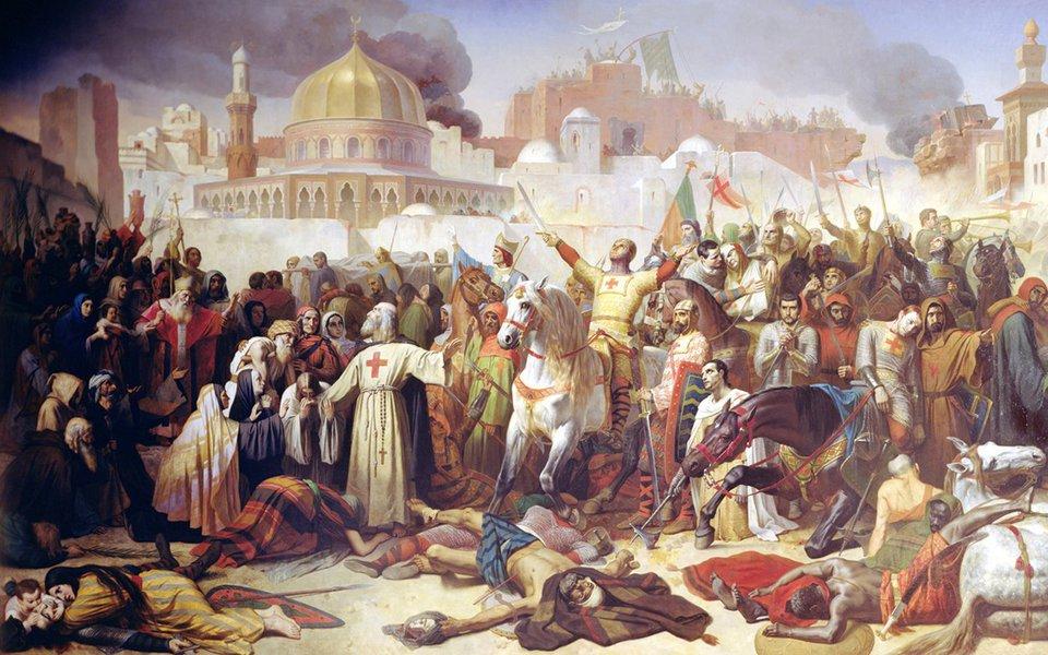 A religião como arma de guerra. Quase todos os conflitos bélicos têm um fundo religioso
