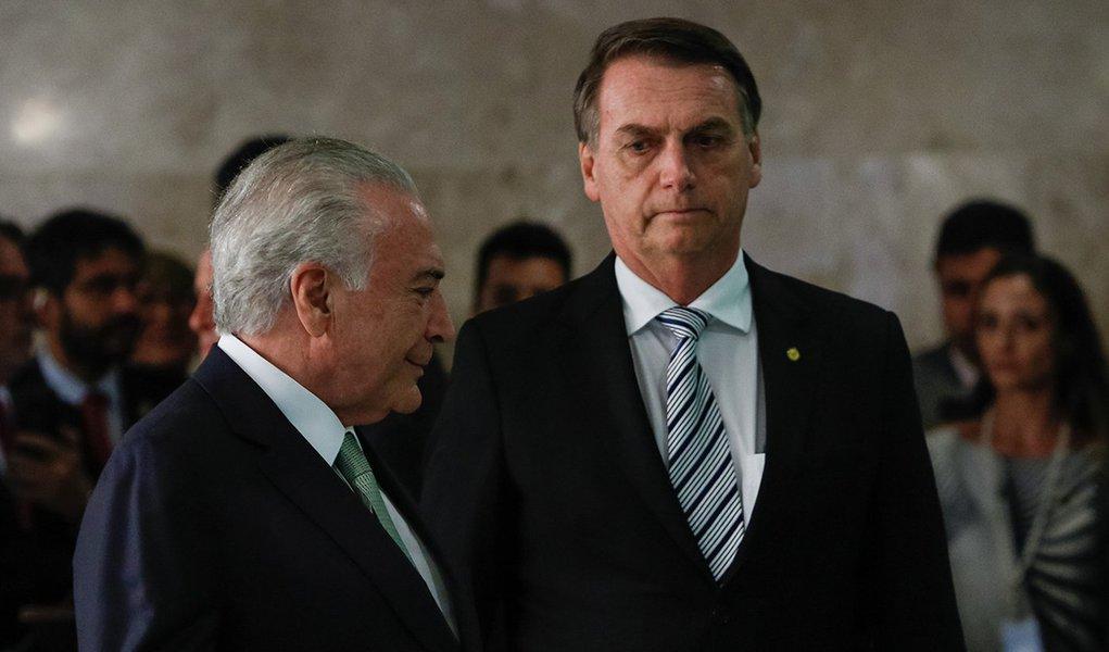 Prisão de Temer é presente para Bolsonaro