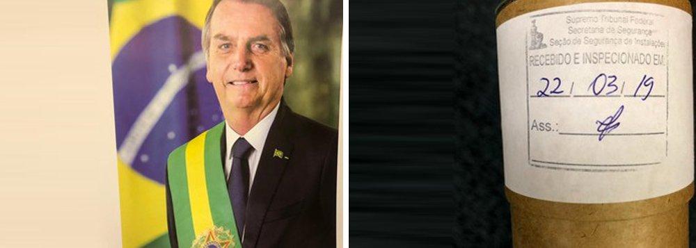 Em meio à crise politica, Bolsonaro envia fotografia ao STF e constrange a Corte