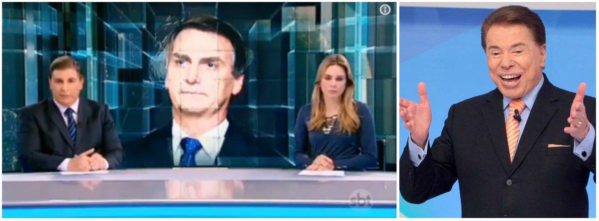 Reportagem sobre visita de Bolsonaro nos EUA é exibida três vezes por determinação de Silvio